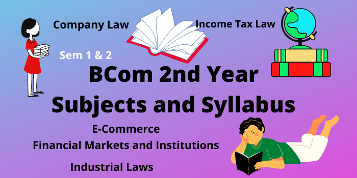 bcom 2nd year subjects list and syllabus
