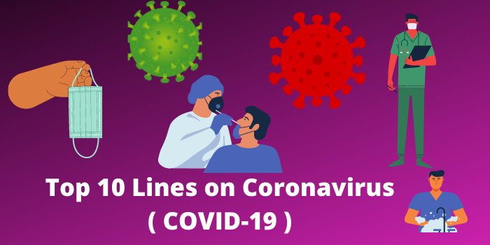 top 5 and 10 lines on coronavirus in English