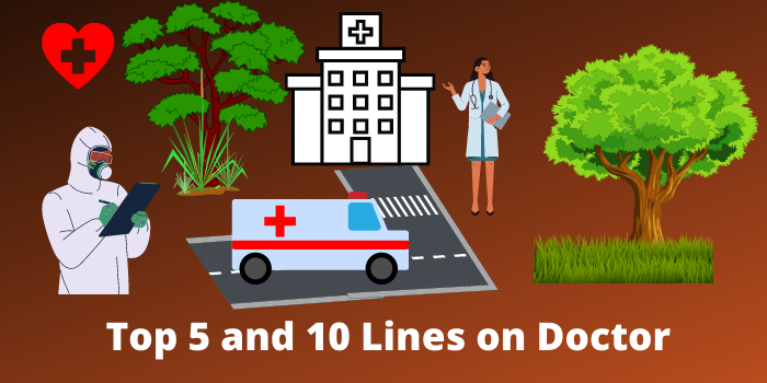top 5 and 10 lines on doctor and few best lines in English